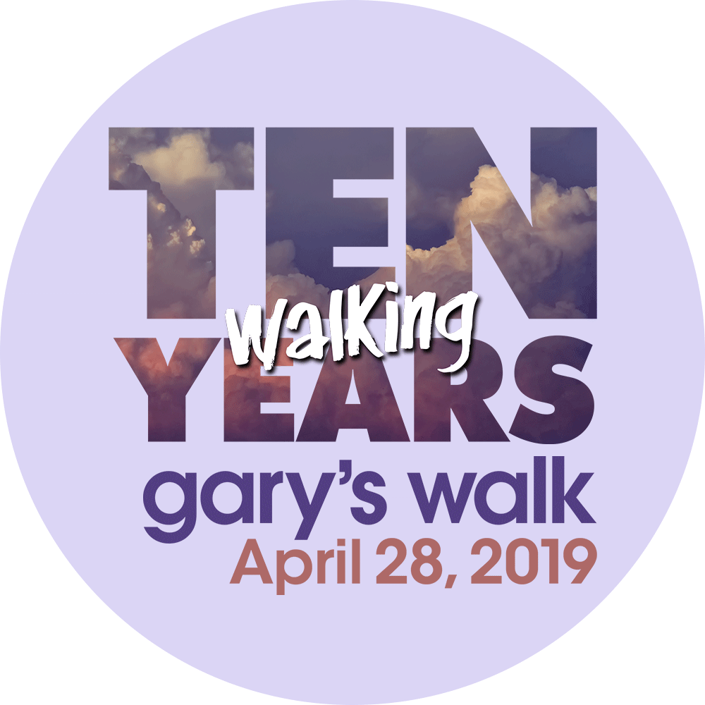 Tenth annual walk